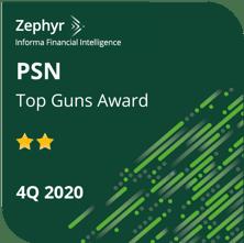 PSN Top Guns 4Q 2020 2 stars